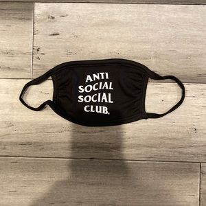 Anti Social Social Club Face Mask